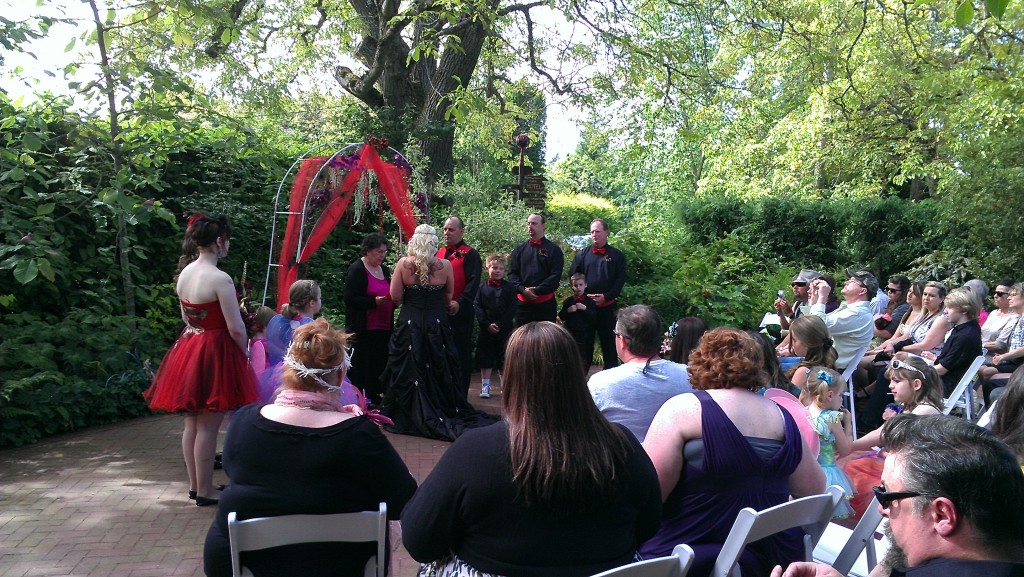Celtic Themed Wedding At Edgefield