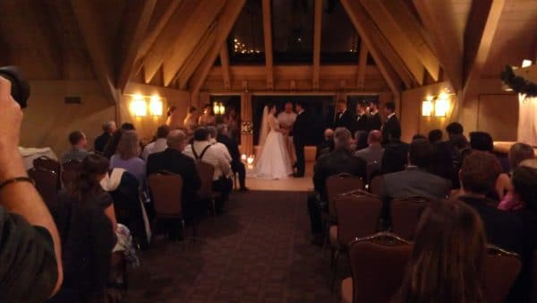 Wedding Timberline Lodge