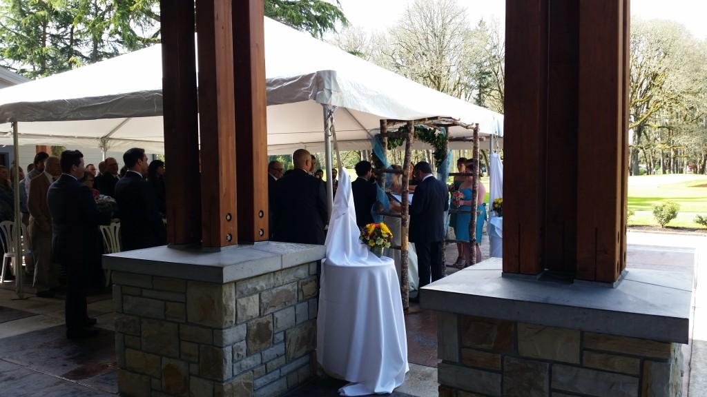 Royal Oaks Vancouver Wedding Ceremony