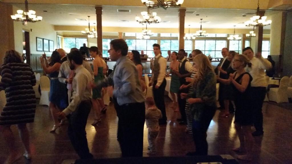 Royal Oaks Vancouver April Wedding Cupid Shuffle