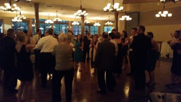 April Wedding at Royal Oaks Vancouver Packed Dance Floor