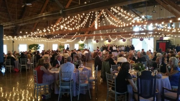 Dinner at Green Villa Barn