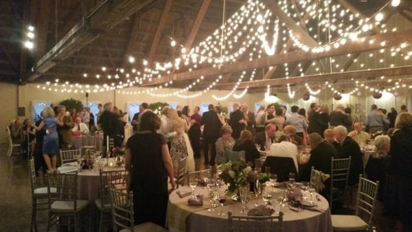 Oregon Wedding DJ Green Villa Barn