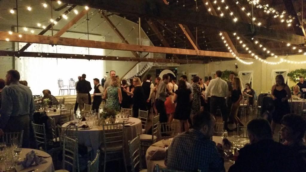 Oregon Wedding DJ at Green Villa Barn Wedding