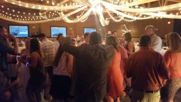 Canby Wedding Fun Dancing Oak View Acres