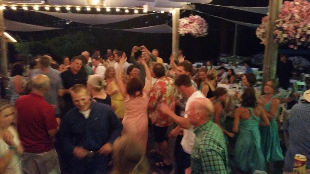 Hot Mt. Hood Wedding Dance Party