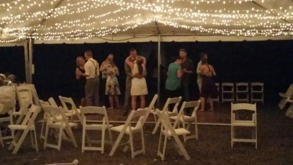 Boring Oregon Wedding Final Dance