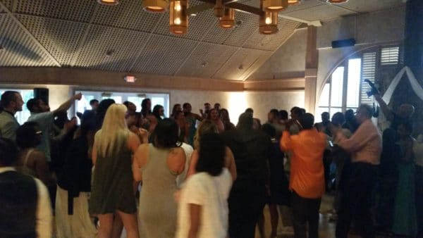 Portland Wedding DJ Edgewater Country Club Dancing Fun