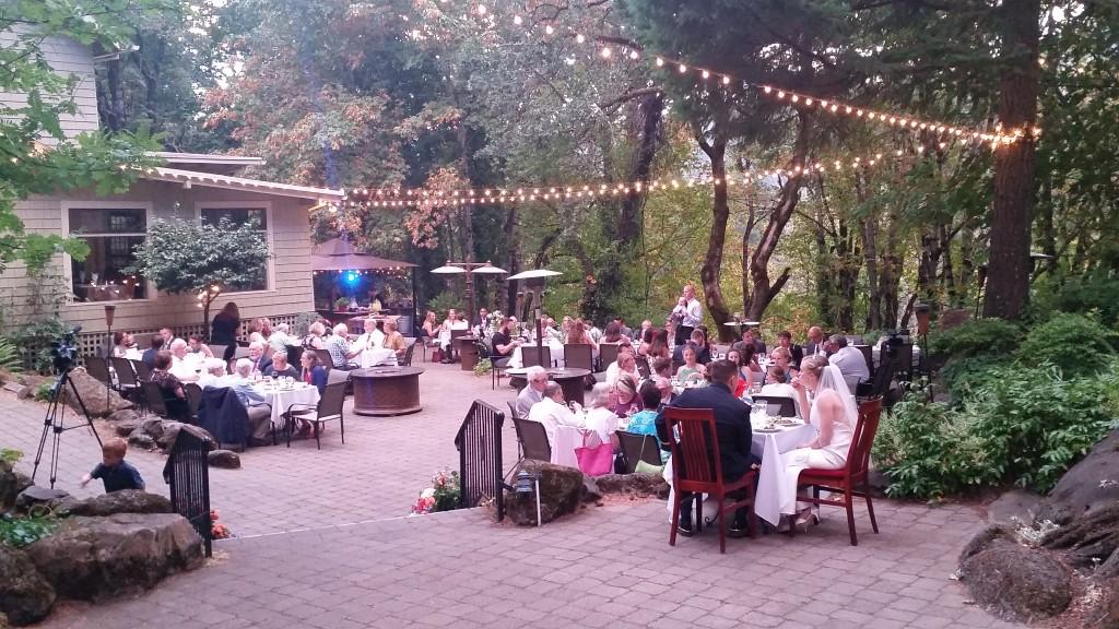 Wedding Reception Stonehedge Gardens Hood River