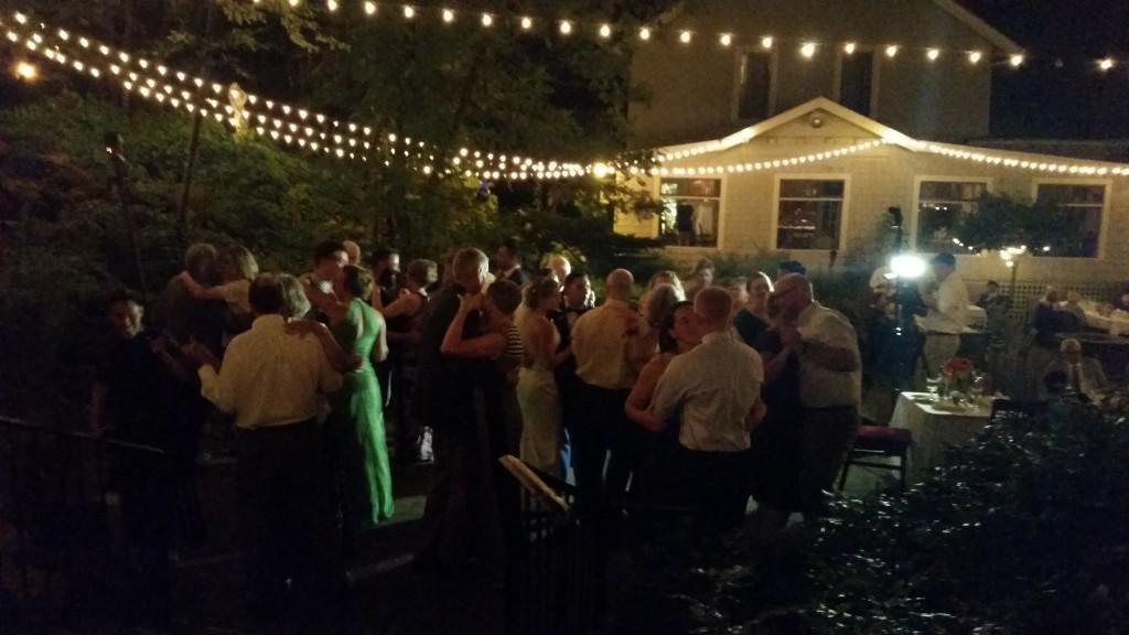 Wedding Anniversary Dance Stonehedge Gardens Hood River