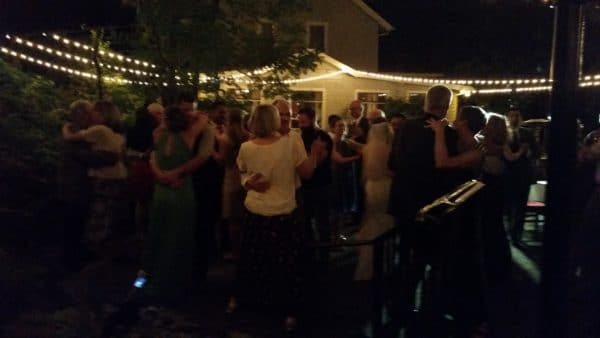 Stonehedge Gardens Hood River Wedding Dance