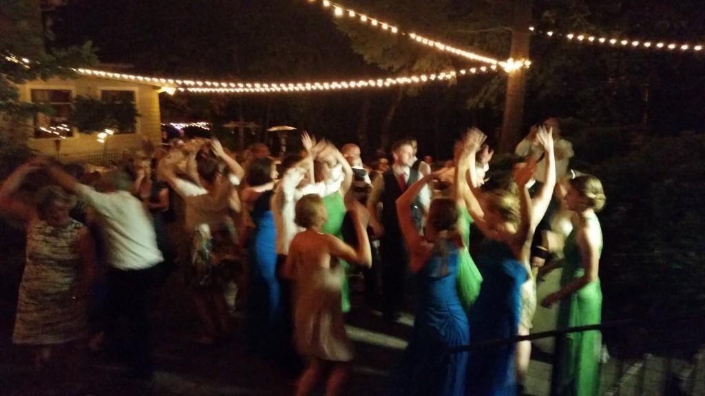 Stonehedge Gardens Hood River Fun Dancing