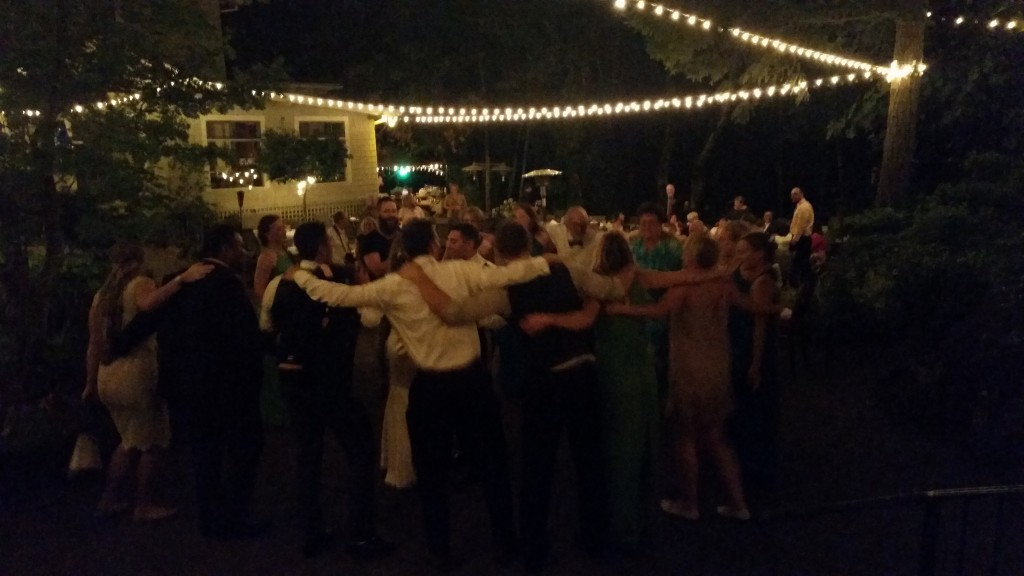 Stonehedge Gardens Hood River Wedding Last Dance