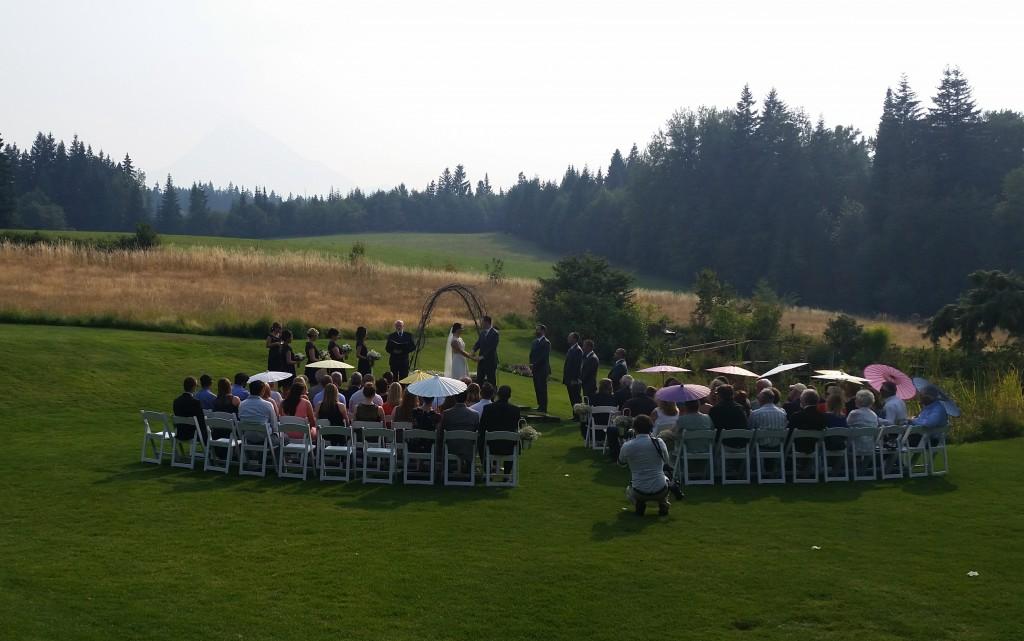 Smoky Mt. Hood Wedding