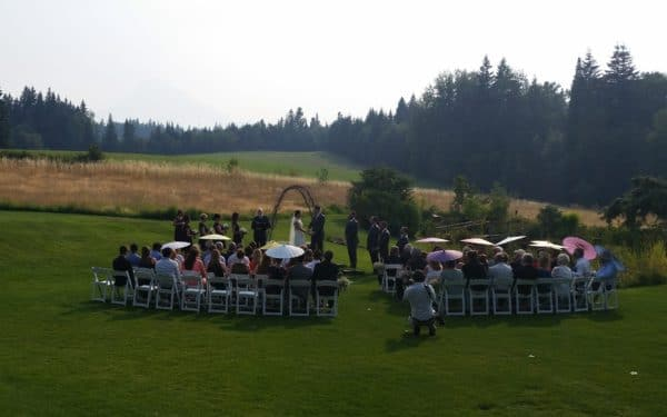 Smoky Mt. Hood Wedding
