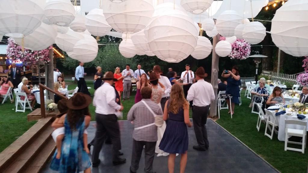 Mt. Hood Wedding Happy Hats