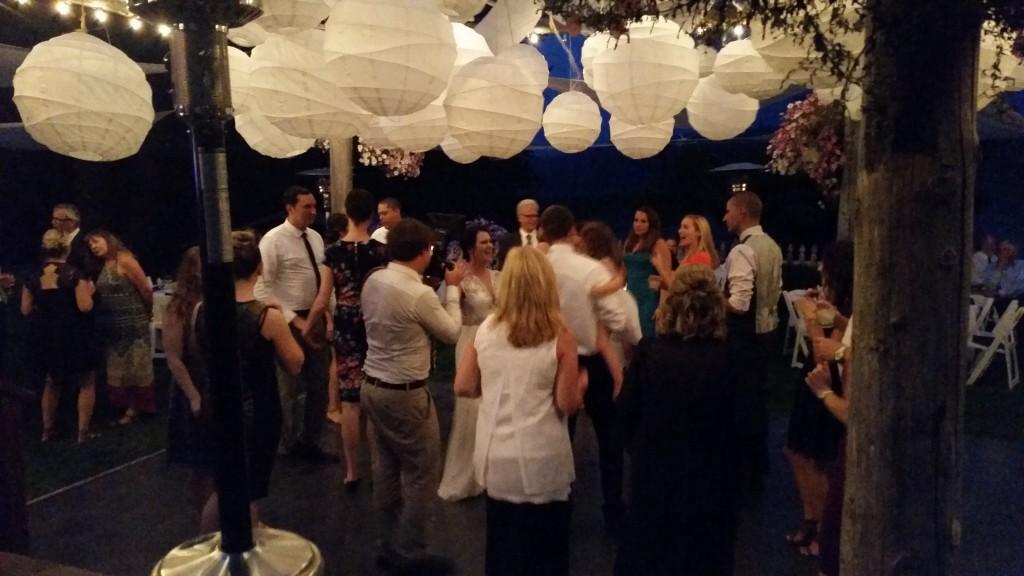 Mt. Hood Wedding Dancing Fun