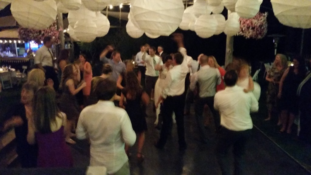 Mt. Hood Wedding Bride Groom Dancing