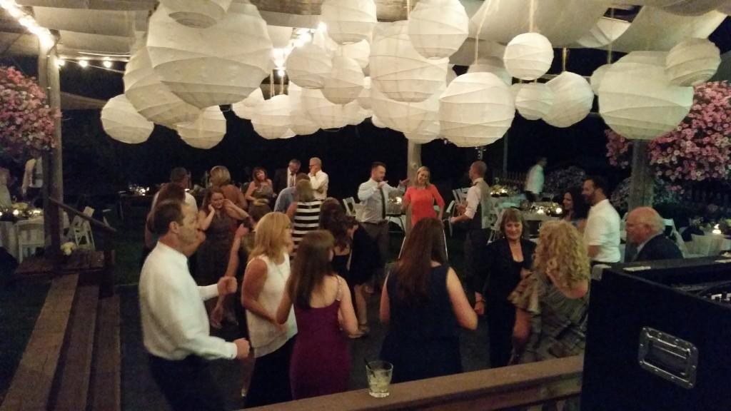 Mt. Hood Wedding Fun Dancing