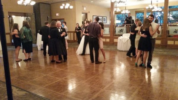 Vancouver Wedding Reception Dance Floor Opens
