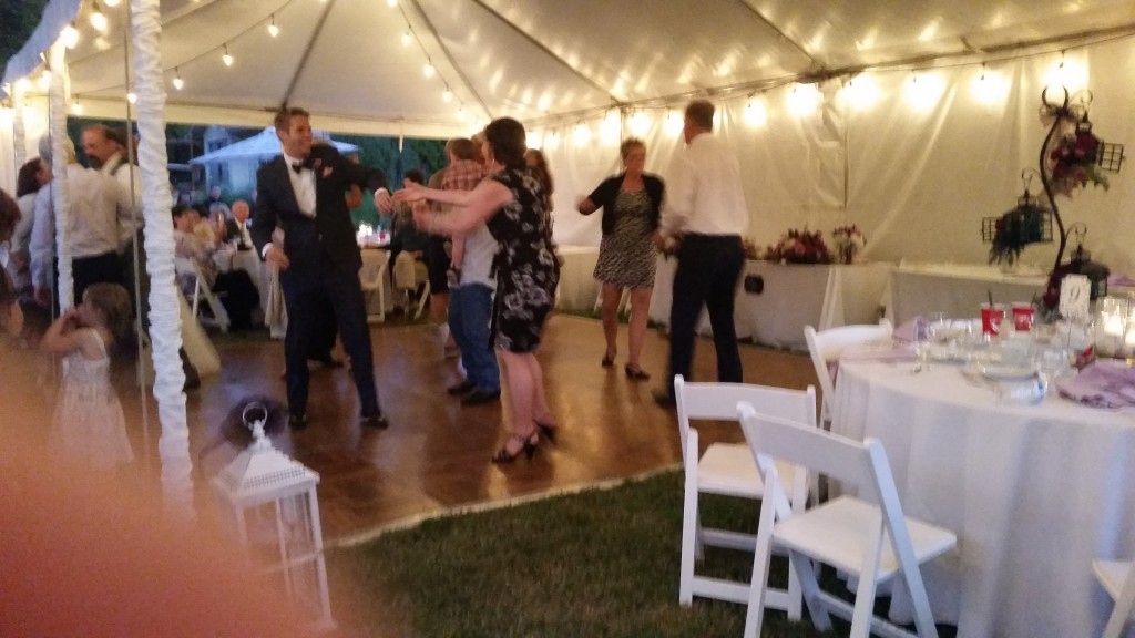 Private Residence Gresham Oregon Wedding Swing Dance