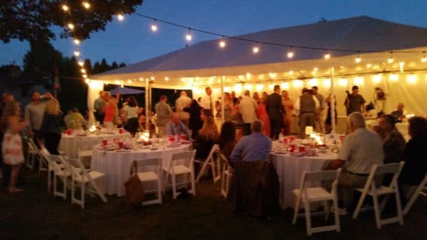 Gresham Oregon Wedding Packed Dance Floor