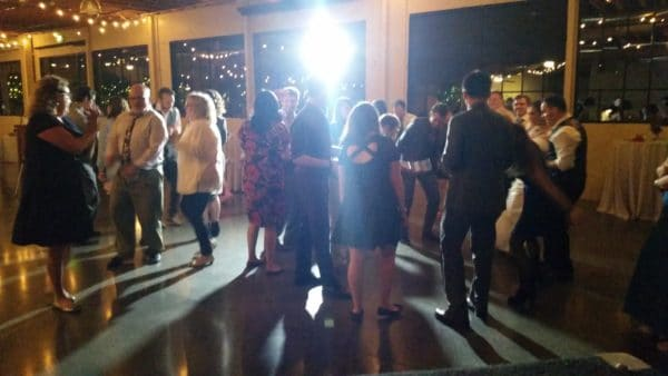 Portland Wedding DJ Castaway Dance Floor