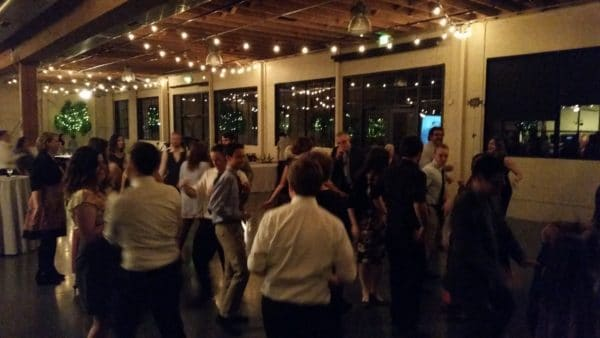 Portland Wedding DJ Plays Castaway Reception Dancing