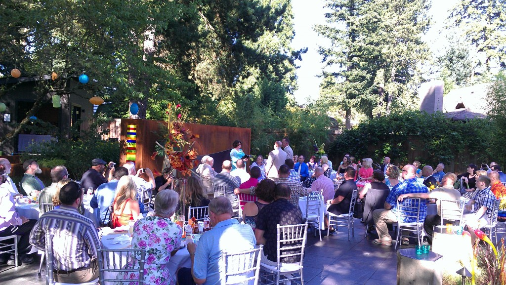 Portland Backyard Wedding