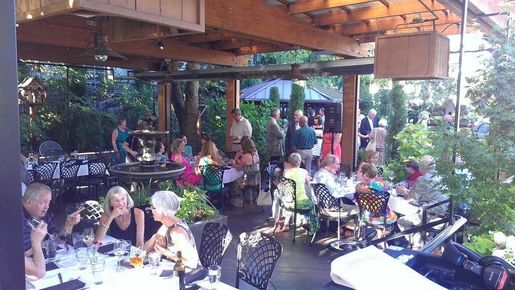 Wedding Reception At Meriwether's Restaurant