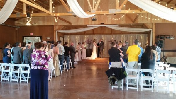 Wedding in Canby