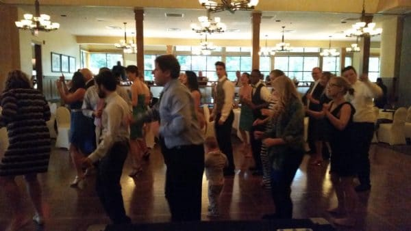 Royal Oaks Vancouver April Wedding Cupid Shuffle