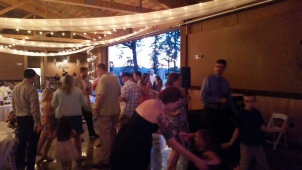 Canby Wedding Early Dancing Oak View Acres