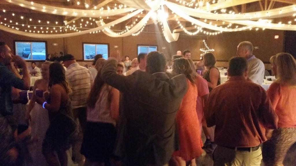 Canby Wedding Fun Dancing Oak View Acres