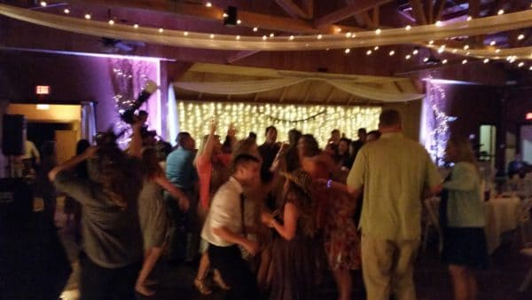 Canby Wedding Late Night Dancing Oak View Acres