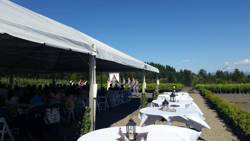 Boring Oregon Wedding