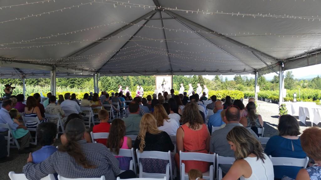 Boring Oregon Wedding Ceremony