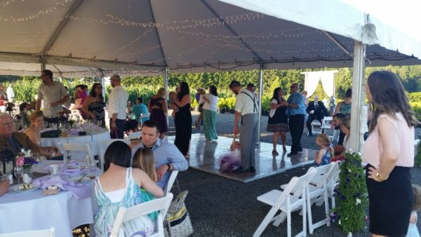 Boring Oregon Wedding Dancing Begins