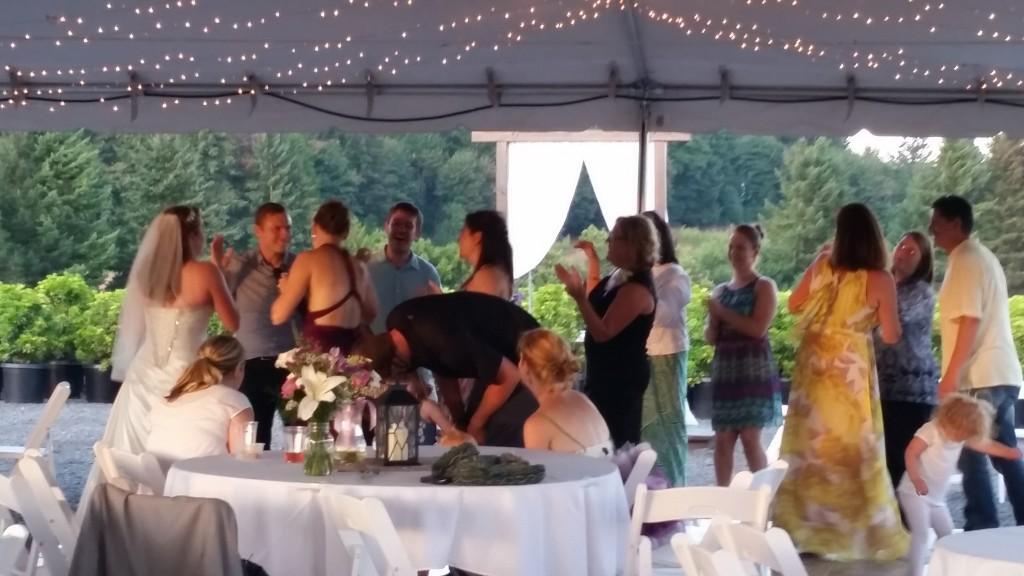 Boring Oregon Wedding Bride Dancing