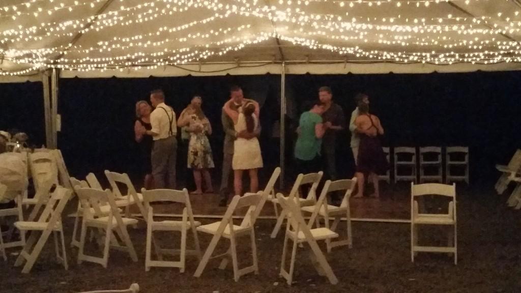 Boring Oregon Wedding Final Dance