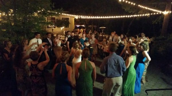 Dancing At Wedding Stonehedge Gardens Hood River