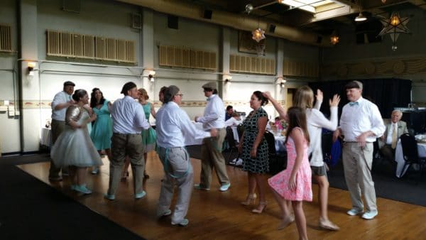 Portland Wedding Reception Dancing Kennedy School