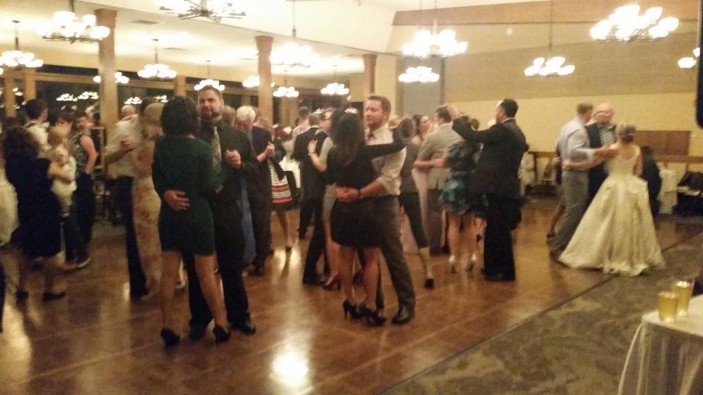 Vancouver WA Wedding DJ Slow Dance Royal Oaks Country Club