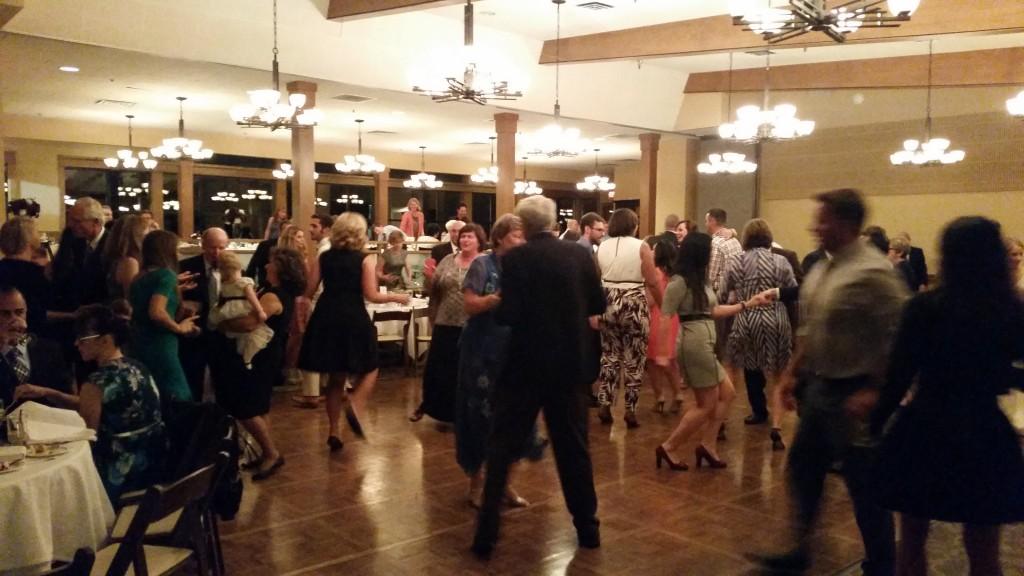 Vancouver WA Wedding DJ Opening Dance Royal Oaks Country Club