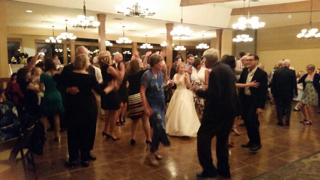 Vancouver WA Wedding DJ Dancing Royal Oaks Country Club