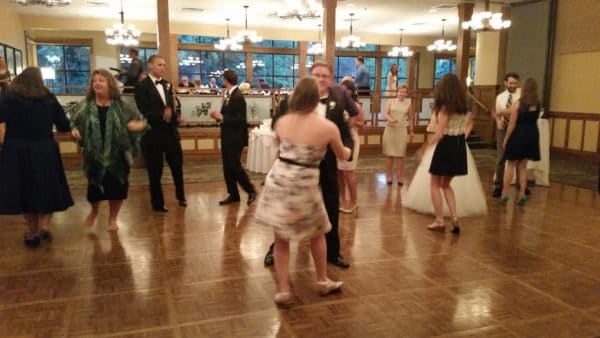 Vancouver Wedding Reception Fun Dancing