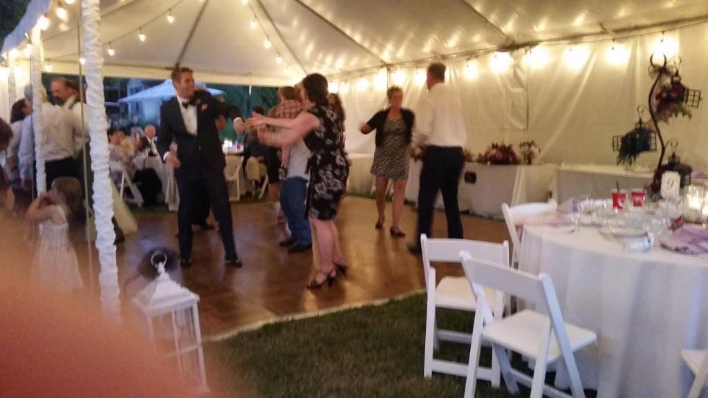 Private Residence Gresham Oregon Wedding Swing Dance