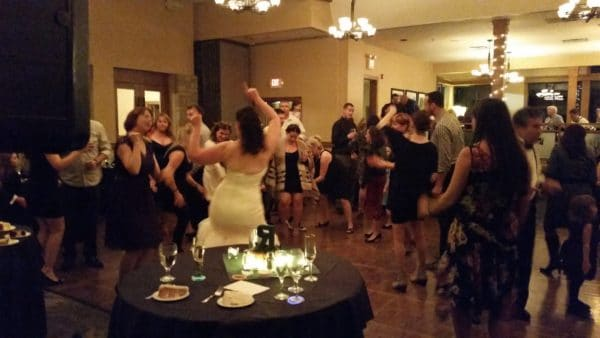 Vancouver WA Wedding Rockin' Dance Floor