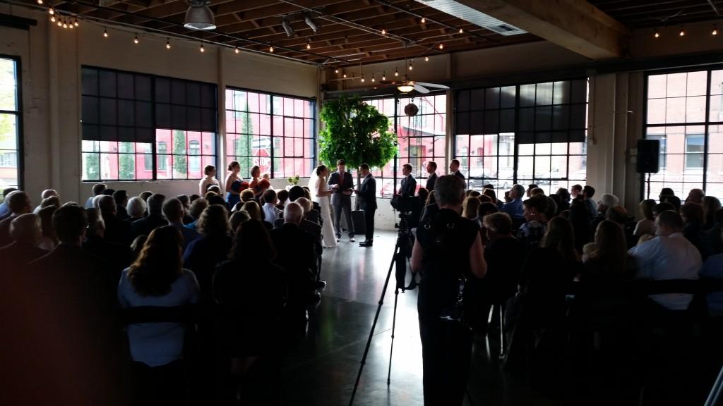Portland Wedding DJ Castaway Ceremony