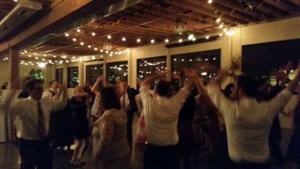 Portland Wedding DJ Plays Castaway Dancing Fun